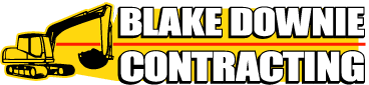 Blake Downie Contracting Logo